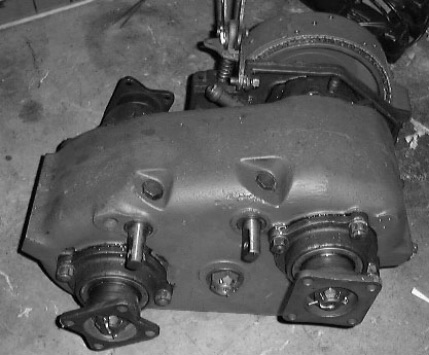 Dodge M37 Parts >> Transfer case ID